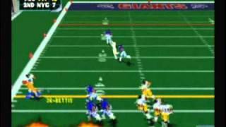 NFL Blitz 2000 - Steelers vs Giants (1st Half)