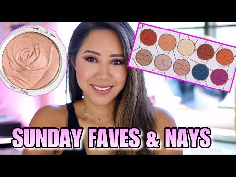 Weekly Beauty Favorites! Sunday Faves & Nays - DOMINIQUE COSMETICS, PHYSICIANS FORMULA ROSE ALL DAY thumbnail
