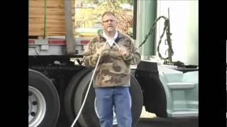 Flatbed Load Tarping Part 1 - Introduction