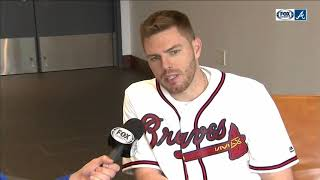 Freddie Freeman on Atlanta Braves: 'I want to be here forever'
