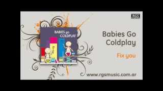 Babies go Coldplay - Fix you