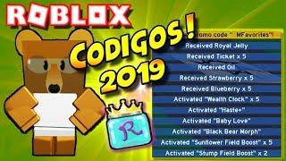 Todos os códigos 2019 🌟 BEE SWARM Simulator ROBLOX