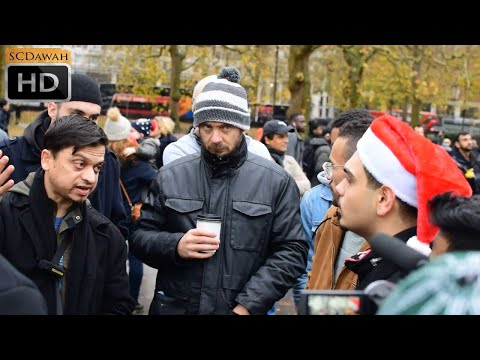 Do atheists have a brain? Mansur vs Atheist | Speakers Corner | Hyde Park