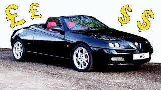 Here's why the Alfa Romeo Spider is going up in value!