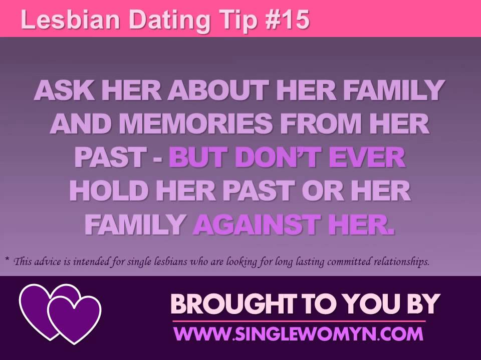 dating lesbian tips