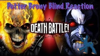 PotterBrony Blind Reaction DeathBattle Ghost Rider vs Lobo