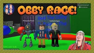 ROBLOX Obby Race mit anderen YouTubern - G Dad Vs. DaddyDodoGuy vs. Redneck Gamer - Wer wird gewinnen?!