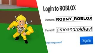 I TAKE THE RODNY ROBLOX ACCOUNT AND I GET YOU 2 GIRLFRIENDS ET 1 CHILD😥😍