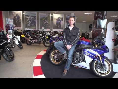 Blade Yamaha motorcycles dealership tour with James Whitham