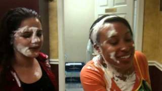 Interview with Elena and Ashley after being creamed
