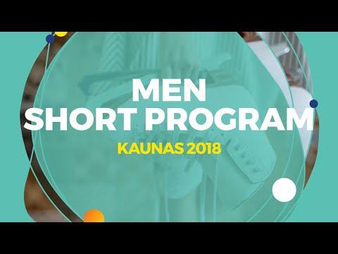 Yuto Kishina (JPN) | Men Short Program | Kaunas 2018