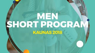 Yuto Kishina (JPN) | Men Short Program | Kaunas 2018