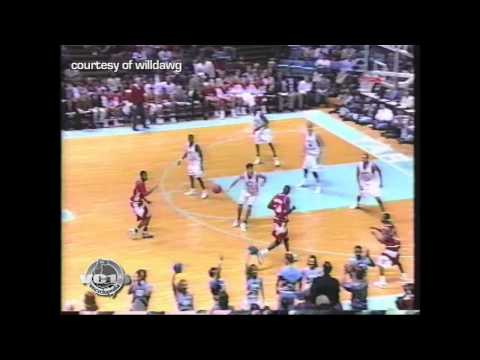 01.04.96 - VC vs NC State 18pts (Three 3-Pointers + Nice 2 Handed Dunk)