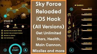 Sky Force Reloaded - Get Unlimited Stars For Free Now! [All Versions]