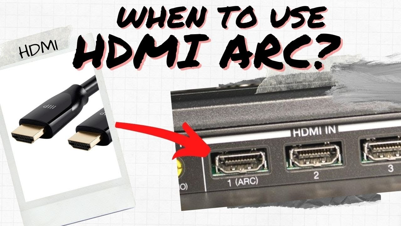 Hdmi Arc What Is Hdmi Arc Everything You Need To Know About It