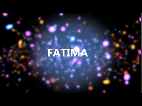 Joyeux Anniversaire Fatima Youtube