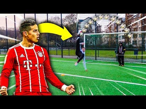 JAMES RODRIGUEZ FUßBALL CHALLENGE !!