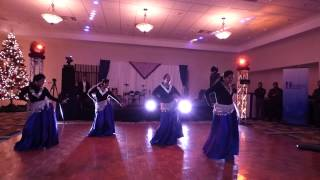 aaja nachle ghagra girls group bollywood dance