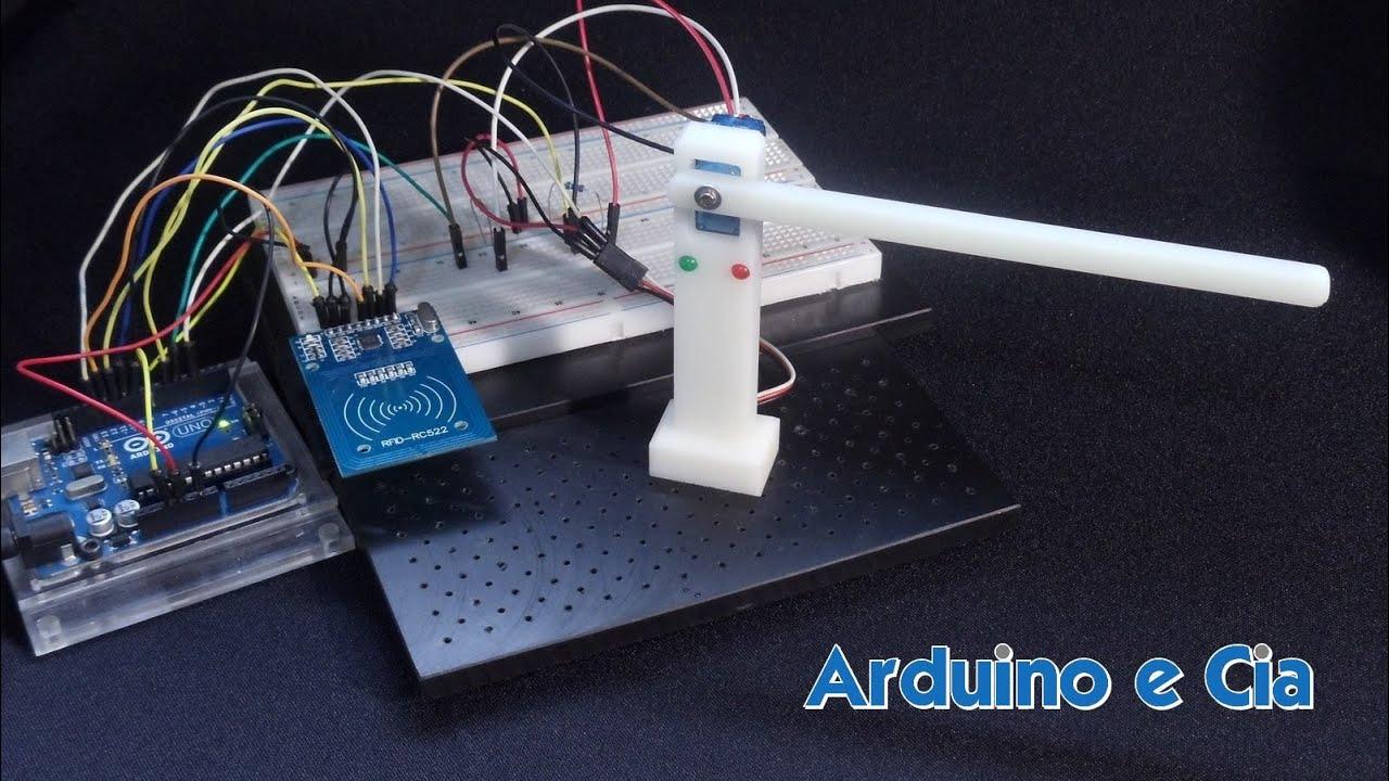 Controle de acesso com módulo RFID RC522 | Arduino e Cia