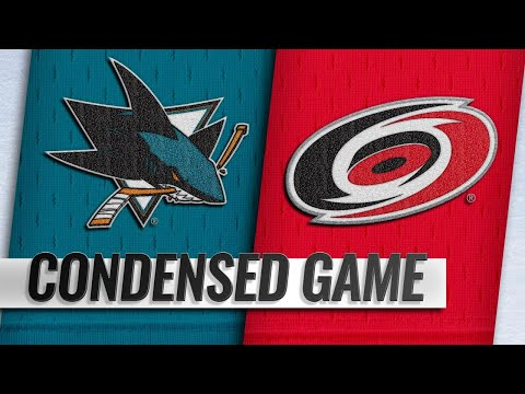 10/26/18 Condensed Game: Sharks @ Hurricanes