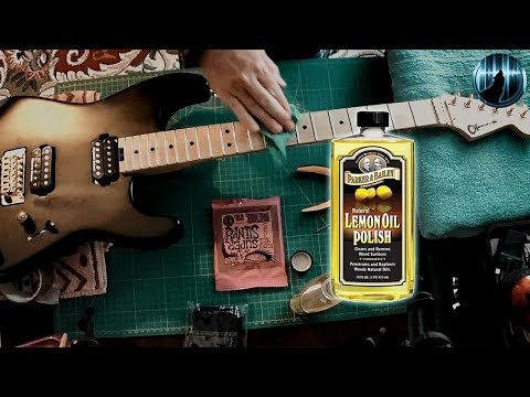 Protecting Guitar Fretboards With Lemon Oil