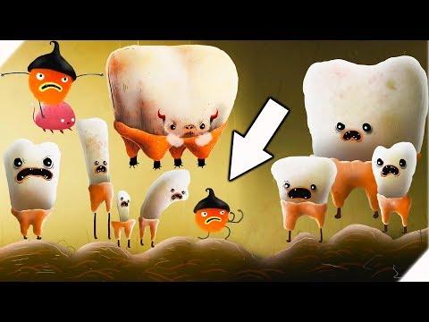 Чучел выбил все зубы. Внутри чудовища - CHUCHEL # 6 Приключения смешного чучела