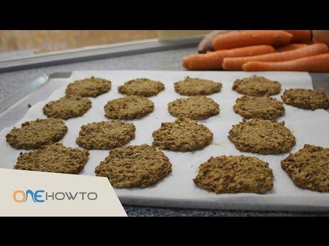 DIY Healthy Dog Treats - Oatmeal Cookies