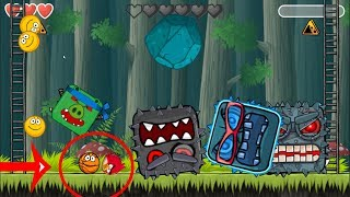 Angry Birds Animated in Deep Forest 'Fusion Battle' with ALL CAVE BOSS  RED BALL 4
