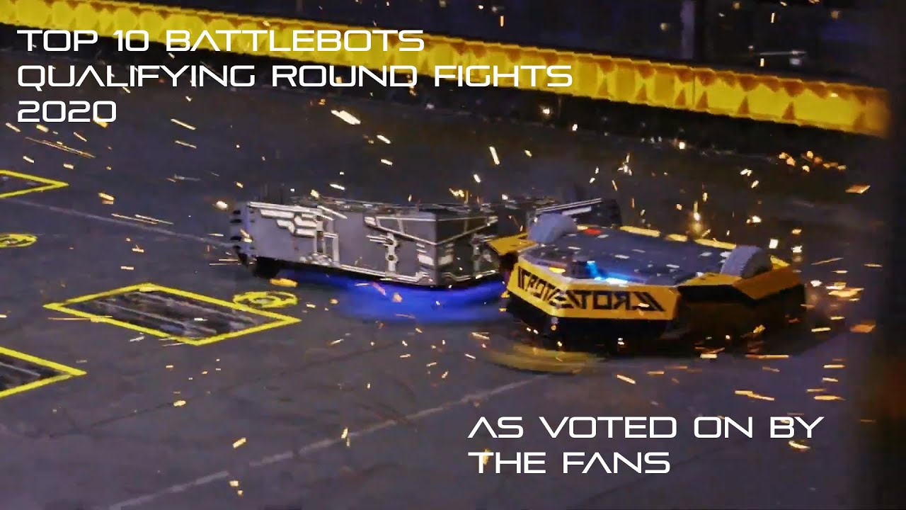 Download Top 10 qualifying round fights in Battlebots 2020-21-as voted on by the fans