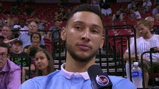 76ers' Ben Simmons Expects To Play Point Guard | ESPN thumbnail
