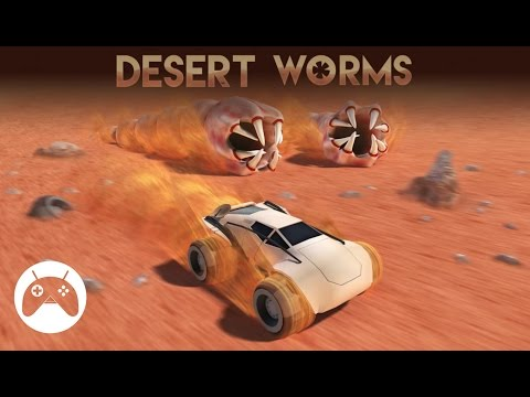 DESERT WORMS Android Gameplay
