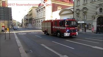 Ambulance + Hasici + Policie Praha 2017