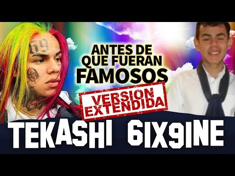 TEKASHI 6IX9INE | Before They Were Famous | UPDATED VERSION