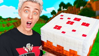 I tried ALL the food from MINECRAFT in Real Life