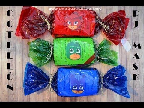 Detallito Pj Mask Para Fiesta Infantil Y Regalo De Cumpleaños