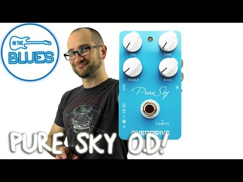Caline Pure Sky Overdrive Pedal Demo
