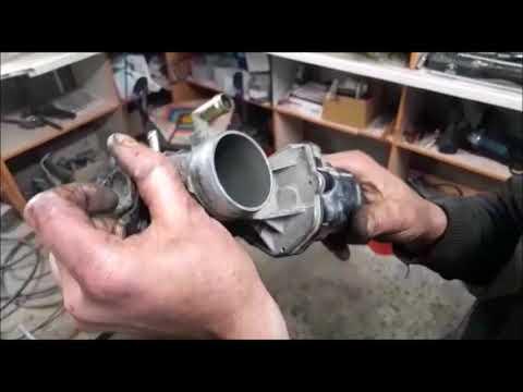 Тойота Приус 20 Чистка дроссельной заслонки и камер сгорания