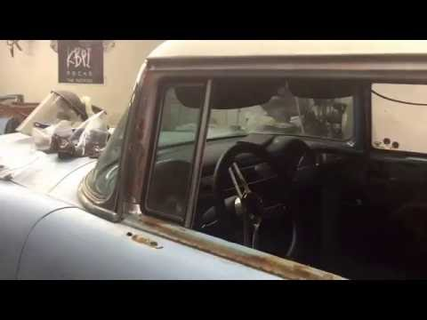 1955 chevy four door to a two door conversion final vid for 1955 chevy 4 door to 2 door conversion