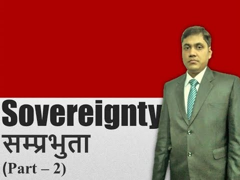 Sovereignty ( samprabhuta)