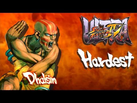 Ultra Street Fighter IV - Dhalsim Arcade Mode (HARDEST)