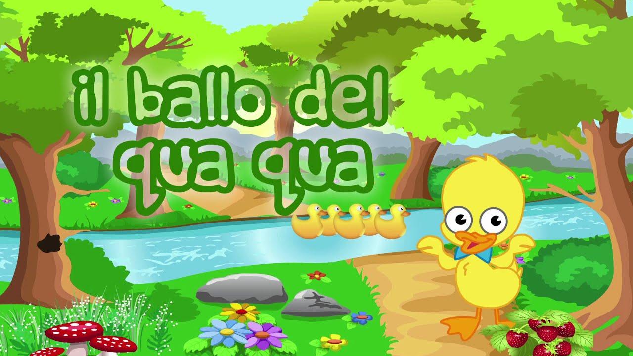 Il Ballo Del Qua Qua Canzoni Per Bambini E Bimbi Piccoli Youtube