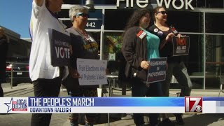 Activists gather in Raleigh to remind people to register and vote