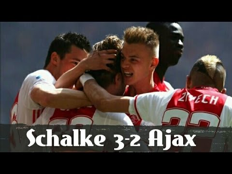 Schalke 04 vs Ajax Amsterdam (3 - 2) Hasil Perempatfinal Europa League 20 April 2017