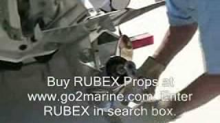 Rubex Interchangable Hub Propellers