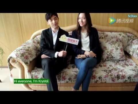 "[ENG SUB] 160511 - Krystal x ""Graduation Season"" PengPeng Interview w/ DengLun"