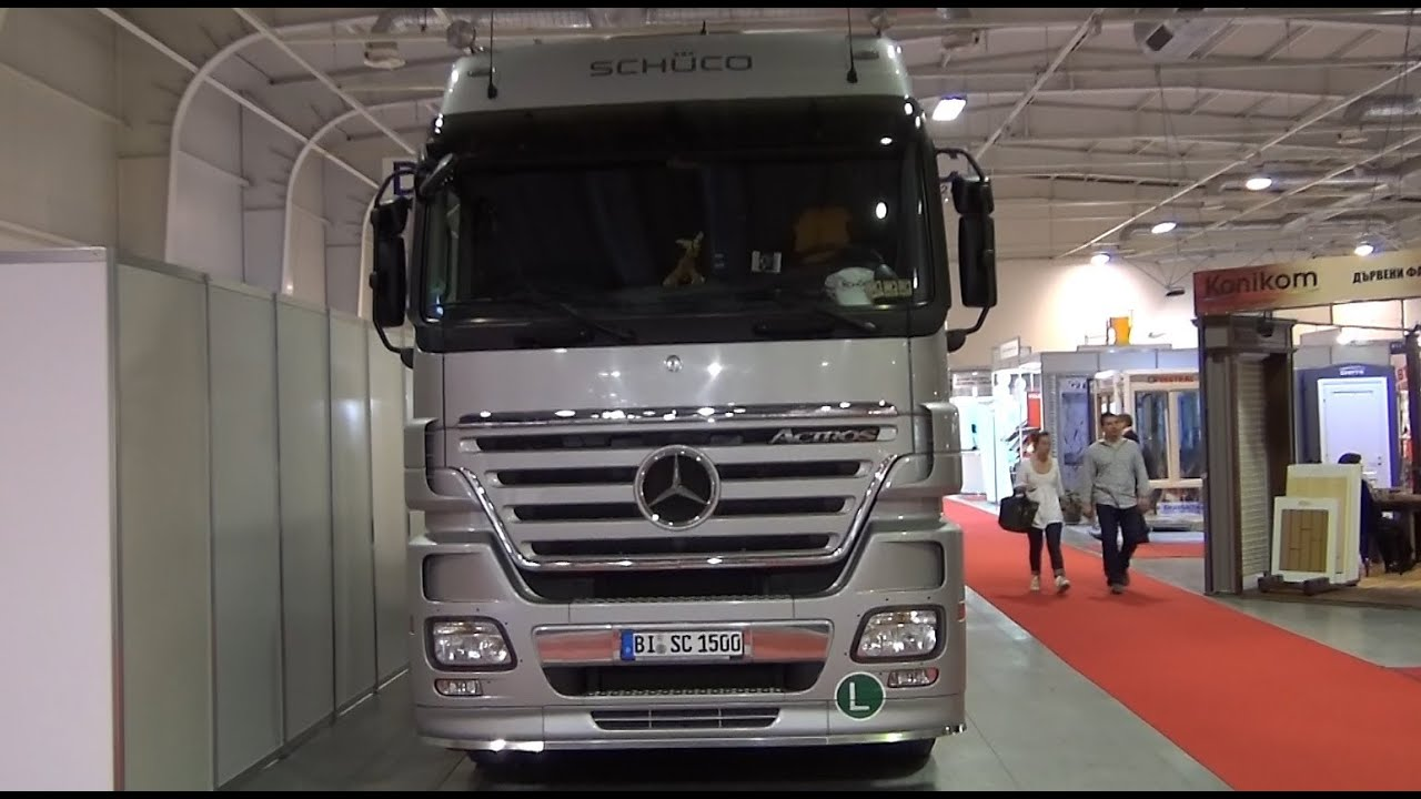 Mercedes benz actros 1841 more information - Mercedes Benz Actros 1841 Sch Co Demo Truck Exterior And Interior In 3d 4k Uhd