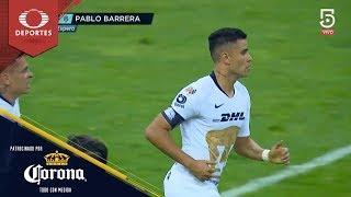 Gol de Pablo Barrera | Cruz Azul 2 - 1 Pumas | Clausura 2019 - J15 | Presentado por Corona