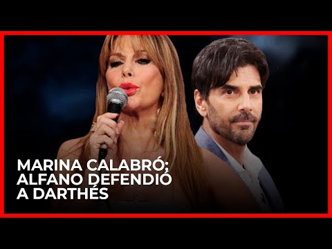 """Alfano """"defendió"""" a Darthes y habría un """"material comprometedor"""" de Luciano Castro"""