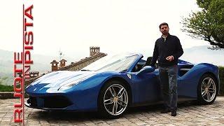 Ferrari 488 Spider Test Drive | Alfonso Rizzo Prova