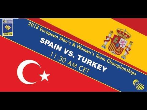 2018 EWTC QF Spain - Turkey (Court 3)